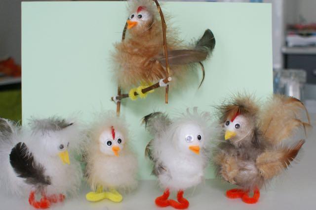 les pilous : petites créations manuelles en plumes naturelles (loisir créatif)
