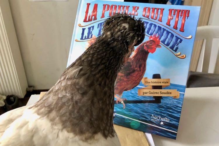 La poule qui fit le tour du monde, par Guirec Soudée et Monique